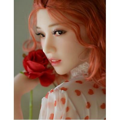 165cm 赤髪色白肌リアルドール 誘惑 Tiffany ラブドール