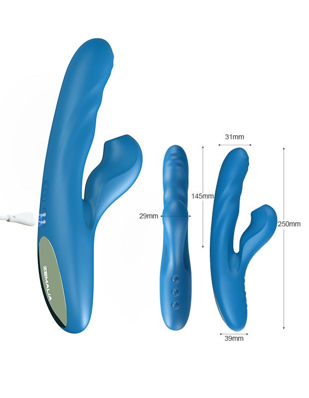 吸引バイブ バイブレーター ZEMALIA OTTO クンニ吸引 例の全部盛り  クリバイブ